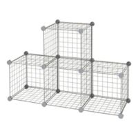 Relaxed Living® Wire Cube Grid in Grey