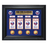 NHL New York Islanders Deluxe Banner Photo Mint