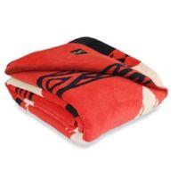 Beacon Blankets Inca (Beacon) Reversible Blanket in Red/beige