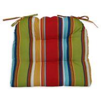Westport Garden Wicker Seat Cushions in Multi (Set of 4)