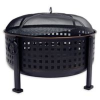 Pleasant Hearth Langston Deep Bowl Fire Pit in Oil Rubbed Bronze