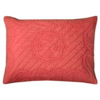Rizzy Home Moroccan Fling Floral King Pillow Sham in Pink