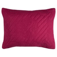 Rizzy Home Moroccan Fling Floral King Pillow Sham in Red