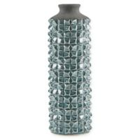 Madison Park Palomino Textured Vase in Green
