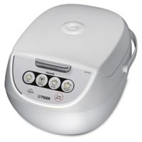 Tiger 5.5 Cup Multi-Functional Rice Cooker in White
