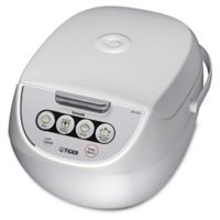 Tiger 10 Cup Multi-Functional Rice Cooker in White