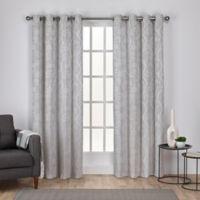 Lamont 108-Inch Grommet Window Curtain Panel Pair in Dove Grey