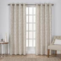 Lamont 96-Inch Grommet Window Curtain Panel Pair in Linen