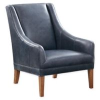 Harbor House Norse Leather Club Chair in Beige