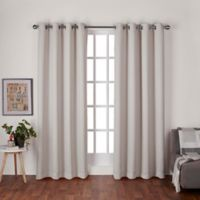 Heath 96-Inch Grommet Top Room Darkening Window Curtain Panel Pair in Natural