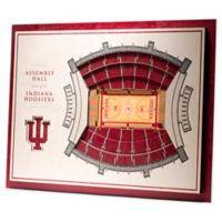 Indiana University 5-Layer StadiumViews 3D Wall Art