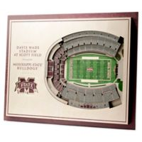Mississippi State University 5-Layer StadiumViews 3D Wall Art