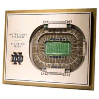 University of Notre Dame 5-Layer StadiumViews 3D Wall Art