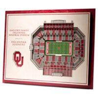 University Of Oklahoma 5-Layer StadiumViews 3D Wall Art