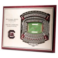 University of South Carolina 5-Layer StadiumViews 3D Wall Art