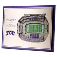Texas Christian University 5-Layer StadiumViews 3D Wall Art