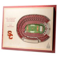 University of Southern California 5-Layer StadiumViews 3D Wall Art