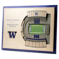 University of Washington 5-Layer StadiumViews 3D Wall Art