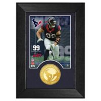 NFL Houston Texans J.J. Watt M-Series Photo Mint