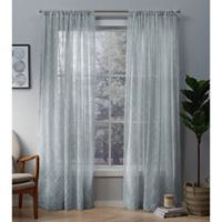 Cali 84-Inch Rod Pocket Window Curtain Panel Pair in Light Blue