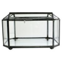 AREOHome Pierre 6-Inch Faceted Trinket Box