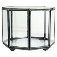 AREOHome Pierre 4.5-Inch Faceted Trinket Box