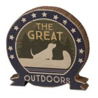The Great Outdoors Wall Art in Brown