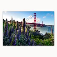 Christopher Knight Collection® Golden Gate Flowers 27-Inch x 36-Inch Canvas Wall Art