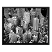 Above New York Black and White Canvas Wall Art