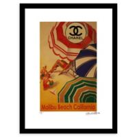 Fairchild Paris Shade Chanel Ad 12-Inch x 16-Inch Print Wall Art
