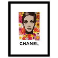 Fairchild Paris Flower Power Chanel Ad 12-Inch x 16-Inch Print Wall Art
