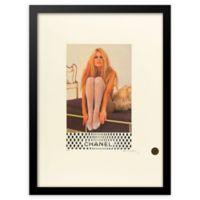 Fairchild Paris Silver Stockings Chanel Ad 12-Inch x 16-Inch Print Wall Art