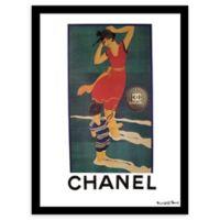 Fairchild Paris Dancer Chanel Ad 24-Inch x 30-Inch Print Wall Art