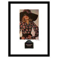Fairchild Paris Boulevard Chanel Vintage Ad 24-Inch x 30-Inch Print Wall Art