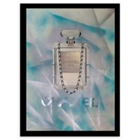 Love the 80's Chanel Ad 24-Inch x 30-Inch Framed Wall Art