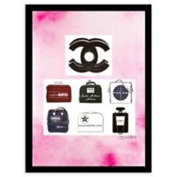 Chanel Jetsetter Ad 12-Inch x 16-Inch Framed Wall Art