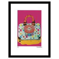 Louis Vuitton Travel Speedy Ad 16-Inch x 20-Inch Framed Wall Art