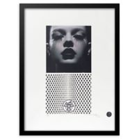 Fairchild Paris Hermes Starlet Ad 20-Inch x 16-Inch Print Wall Art in Black/White