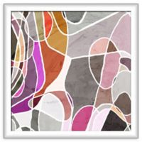 PTM Images Movement II 20-Inch Square Framed Wall Art