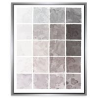 PTM Images Industrial 25.75-Inch x 31.75-Inch Framed Wall Art in Silver