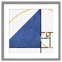 PTM Images Abstract 21.5-Inch Square Framed Wall Art