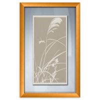 PTM Images Grass Roots 14-Inch x 22-Inch Framed Wall Art