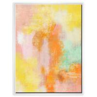 PTM Images Blush Aura 31.75-Inch x 41.75-Inch Framed Wall Art