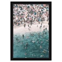 PTM Images Over Ocean 23-Inch x 33-Inch Print Wall Art in Black