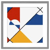 PTM Images Abstract Primary Framed Wall Art