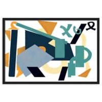 PTM Images Abstract Forms Framed Wall Art