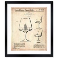 Oliver Gal™ Chair Or The Like 1958 Paper Framed Print in White