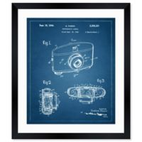 Oliver Gal™ Photographic Camera Paper Framed Print in White