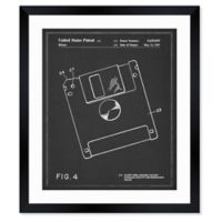 Oliver Gal™ 10-Inch x 12-Inch Floppy Disk 1997 Framed Patent Wall Art in Black