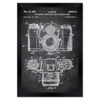 Oliver Gal™ 26-Inch x 32-Inch Sauer Camera 1962 Blueprint Framed Wall Art in Gray